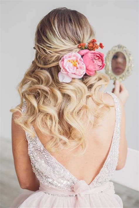 Wedding Hairstyles Half Up Half With Flower by Wedding Hairstyles Half Up Half Wedding Hairstyle