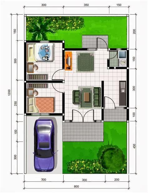 contoh denah rumah sehat sederhana desain denah rumah minimalis desain denah rumah minimalis