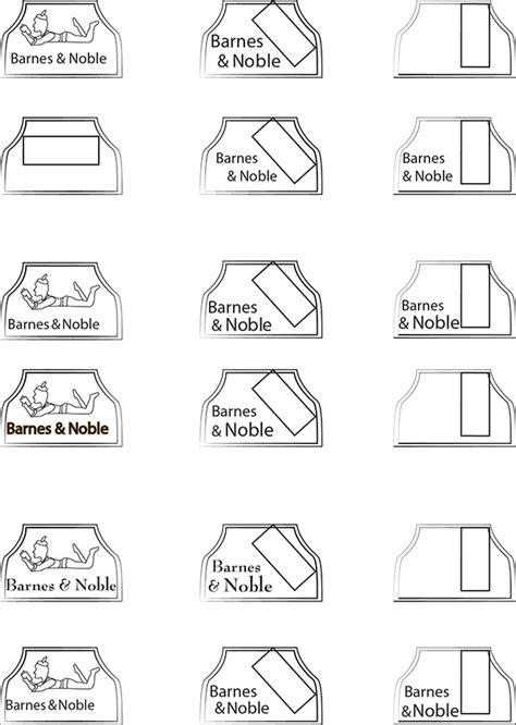 font design process barnes noble logo design process on behance