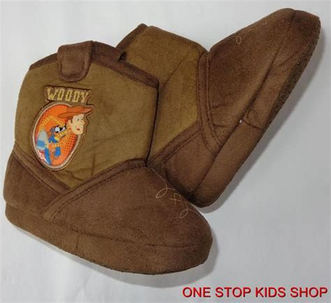 woody slippers woody toddler boys 5 6 7 8 slippers shoes cowboy boots