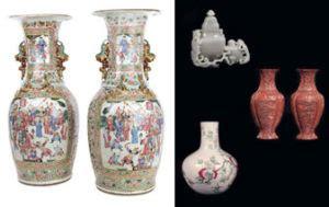 vasi cinesi di valore pin due vasi orientali tipo satzuma antiquariato e dipinti