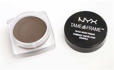 Nyx Pomade comparison review nyx frame brow pomade vs