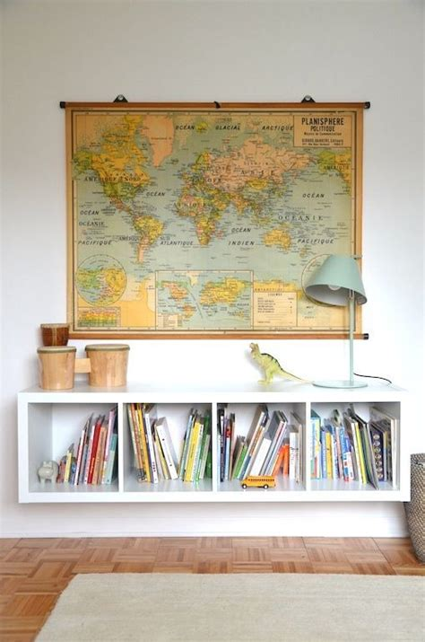 1000 ideas about map wall decor on world map