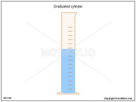measuring cylinder scientific diagram graduated cylinder illustrations