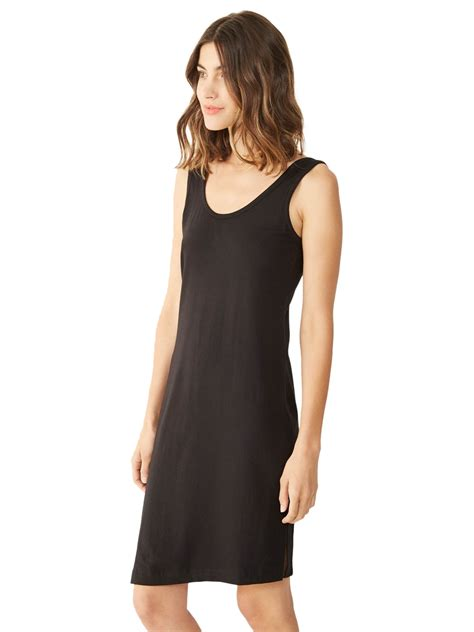 Laurent Slit Dress Black alternative apparel dorito slit dress in black lyst