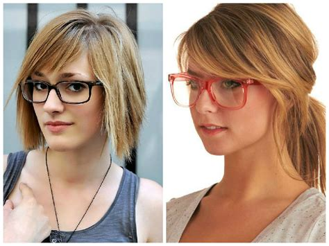 Medium Hairstyles With Bangs And Glasses by Bangs And Glasses Hairstyle Ideas Hair World Magazine