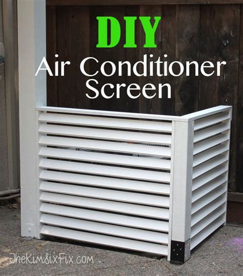 How To Fix A Small In An Air Mattress by Best 25 Air Conditioner Screen Ideas On