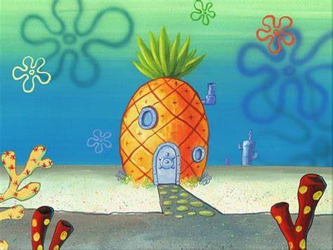 pineapple house image spongebob s pineapple house in season 2 1 png encyclopedia spongebobia fandom