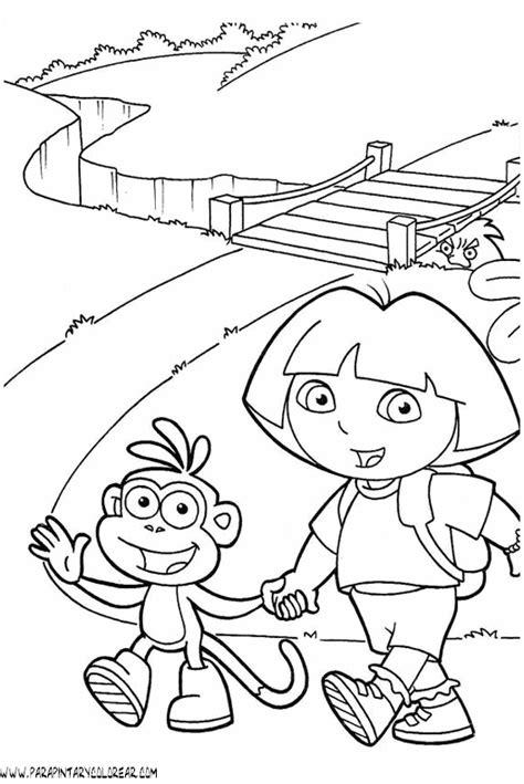 dibujos para colorear de dora la exploradora dibujos para colorear dora la exploradora dibujos de