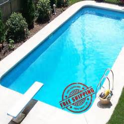 schwimmbad bausatz 12 x 24 rectangle in ground swimming pool kit