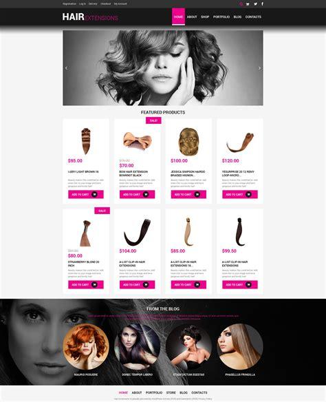beauty salon website template 17391 tema woocommerce 48894 para sitio de peluquer 237 as
