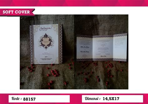 Undangan Erba 88157 undangan soft cover erba 88157 erba soft cover juragansouvenir