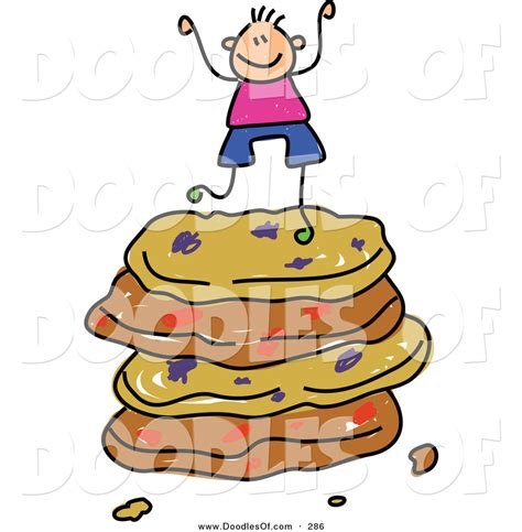 cookie doodle free vector clipart of a childs sketch of a happy boy on a