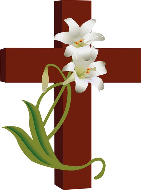 Free Clipart by Cross Clipart Ideas On Easter Images 6 2 Clipartix