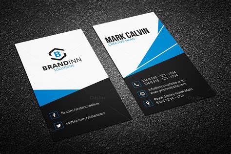 creative personal business card templates modern business card template business card templates on