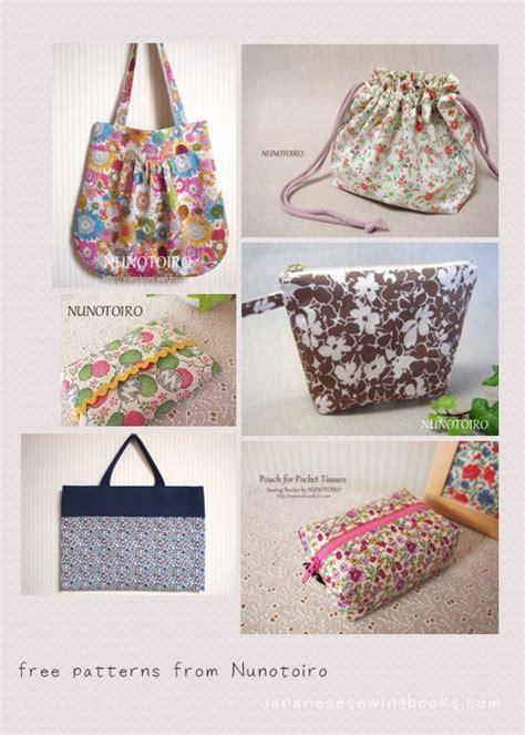 patterns sewing crafts free japanese sewing patterns nunotoiro japanese