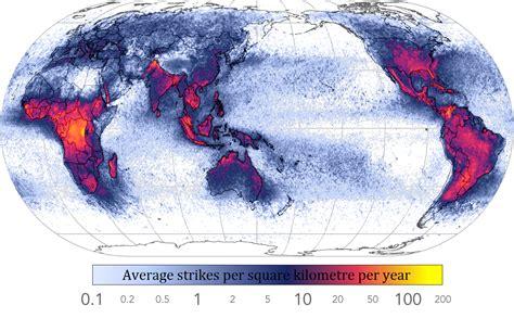 lightning strikes map file global lightning strikes png