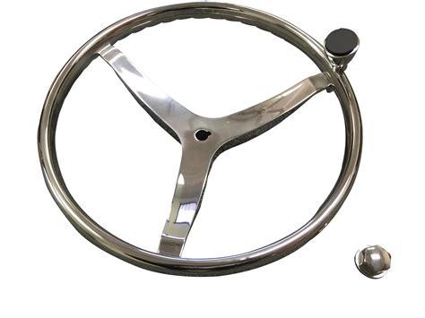 boat steering wheel nut marine boat 3 spoke ss steering wheel turning knob finger
