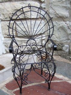 wrought iron rocking chair vintage 1000 images about siff s wrought iron on
