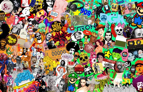 collage pop pop and culture collage by jeramiah327 on deviantart