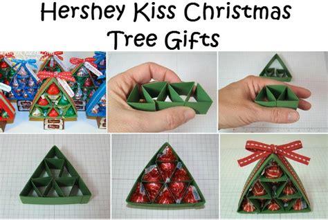 Hershey kiss christmas tree gifts diy 4 home ideas