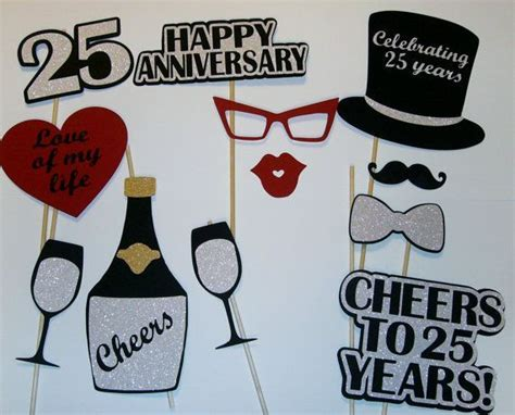 25th Anniversary Photo Prop / Silver Anniversary/ by