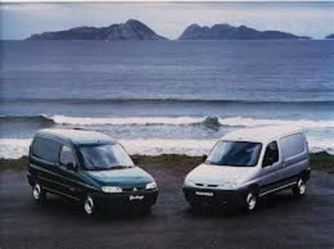Citroen Berlingo Peugeot Partner Repair Manual 2002 2008