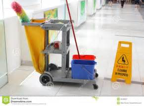 cleaning cart royalty free stock photography image 25383357