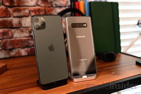 compared apples iphone  pro  samsungs galaxy