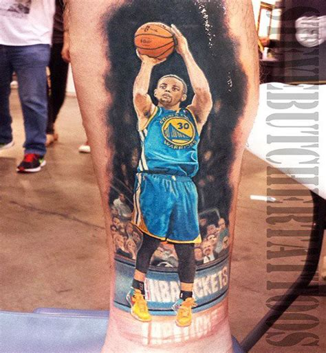 butcher tattoo realistic sports by steve butcher no