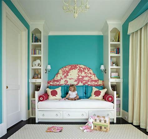 turquoise childrens bedroom red and turquoise kids rooms contemporary girl s room