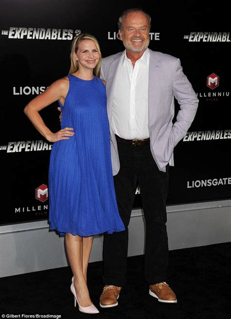 Kelsey Grammer joined by daughter Greer and wife Kayte at