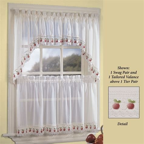 sheer kitchen curtains sheer kitchen curtains shela embroidered sheer kitchen