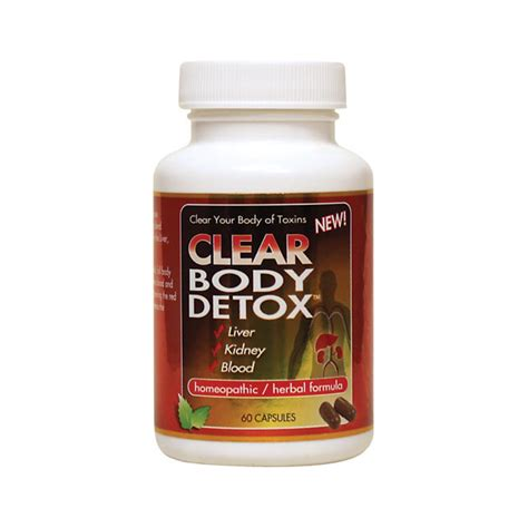 Healthy Detox Supplements by Clear Products Detox 60 Caps Swanson Health Products