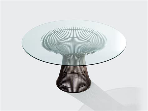 buy the knoll platner dining table at nest co uk