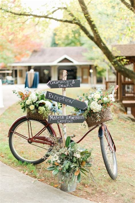 100 Awesome & Romantic Bicycle Wedding Ideas ? Hi Miss Puff