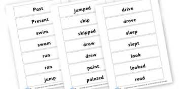 past tense writing vocabulary grammar and punctuation