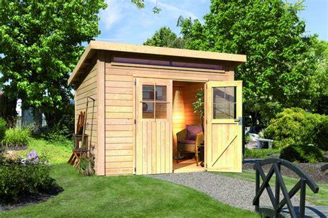 Suche Holzhaus Mit Grundstück Zu Kaufen by Gartenhaus Woodfeeling 171 Aktionshaus Pultdach 187 Gartenhaus