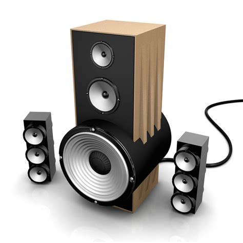 designer speakers 3d visualisation speaker design visual