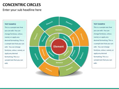 Concentric Circles Powerpoint Sketchbubble Concentric Circles Ppt