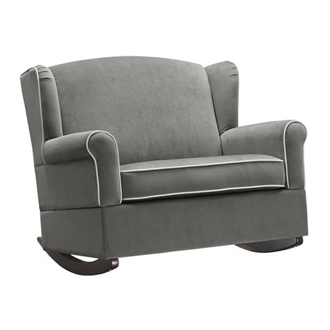 wingback rocking chair canada baby relax lainey wingback chair half rocker reviews