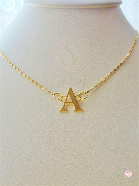 cadenas con nombre chapa de oro cadenas sorella iniciales chapa de oro iniciales sorella