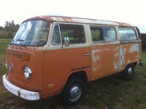 Buy used 1978 volkswagen bus vw transporter hippie bus