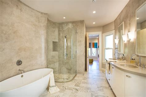 pac heights cement veneer plaster modern bathroom