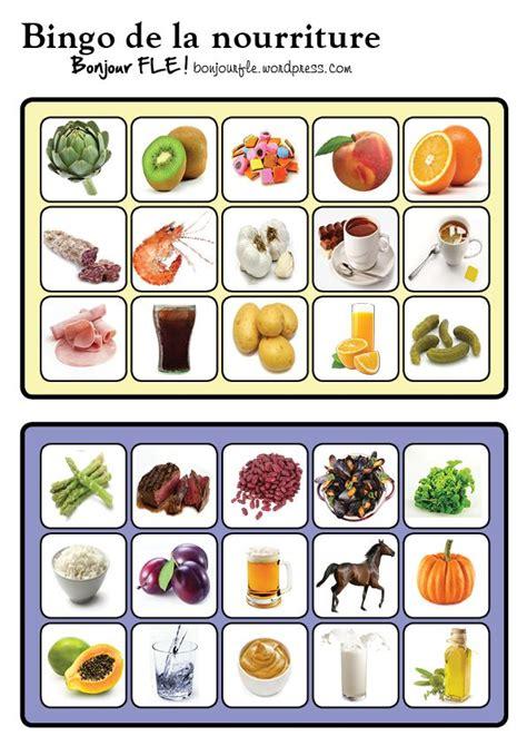 alimentos franceses bingonourriture11 l arc en ciel fran 231 ais pinterest