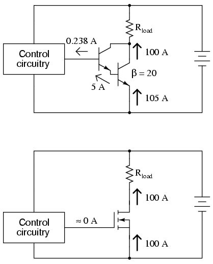 bjt transistor voltage drop lessons in electric circuits volume iii semiconductors chapter 6