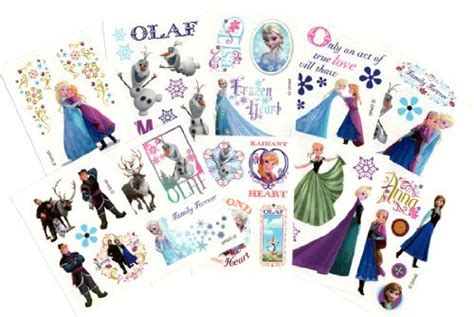 Disney Frozen Temporary Tattoos For New gagtoysy shop for novelty and toys