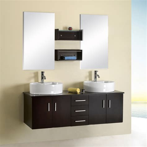complete bathroom vanity sets bath vanities enya complete double bath vanity set by