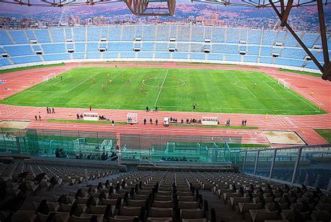 Premier League Beirut Camille Chamoun Sports City Stadium Stadion In Bayrūt Beirut