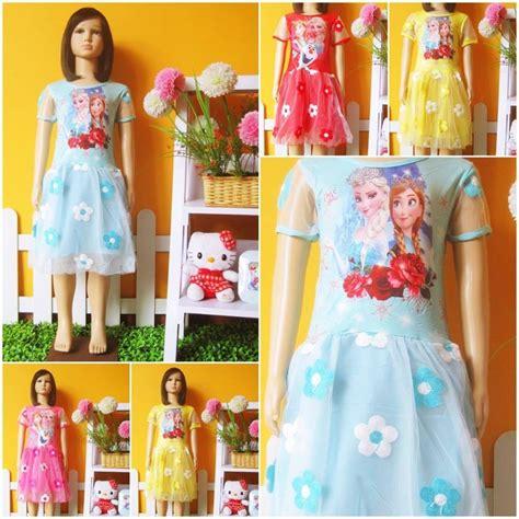 Grosir Murah Baju Vania Dress Bordir grosir baju murah di baju3500